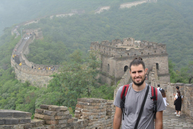 Ramón en la Muralla China