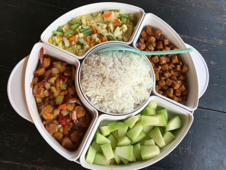Comida típica Indonesia