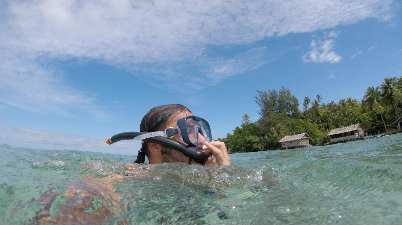snorkel en raja ampat