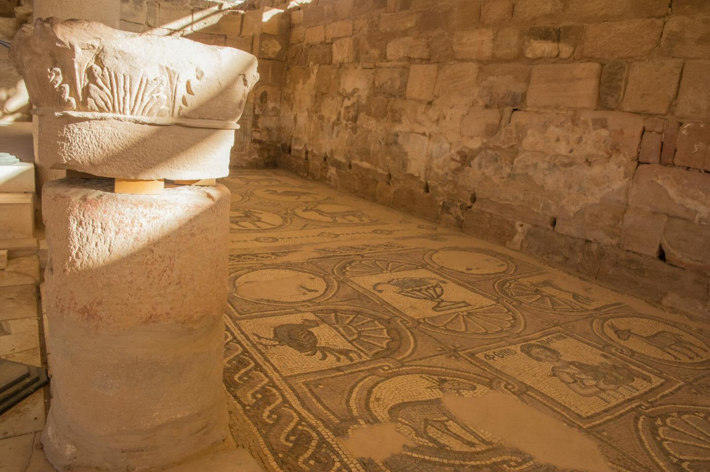 iglesia bizantina petra