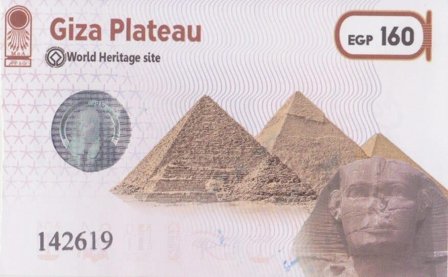 Entrada a las Pirámides de Giza