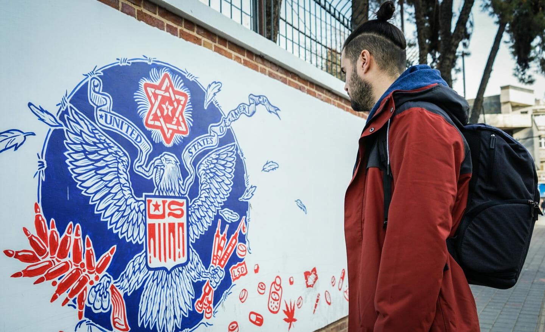 Antigua embajada de Estados Unidos en Irán