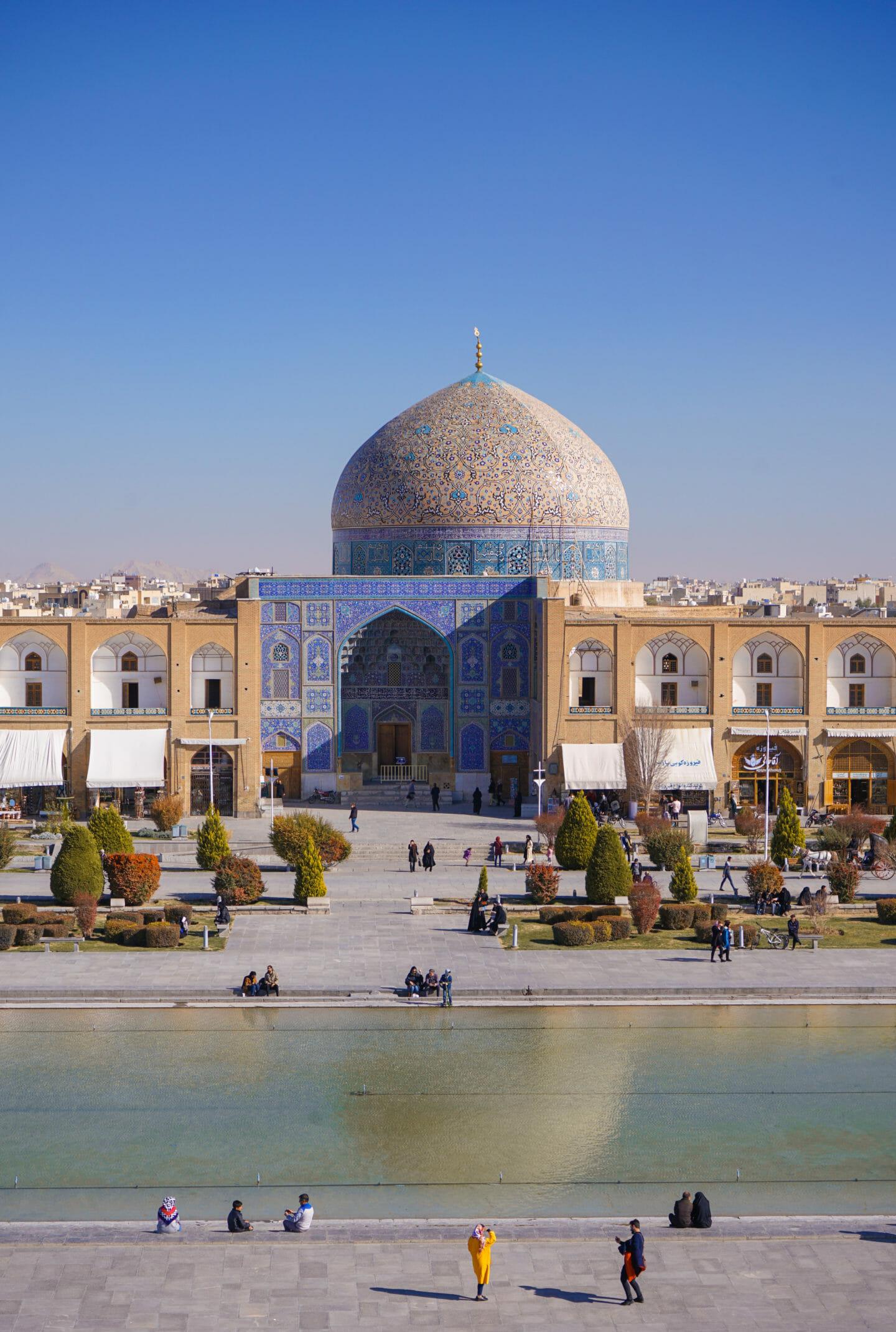 Mezquita Isfahán