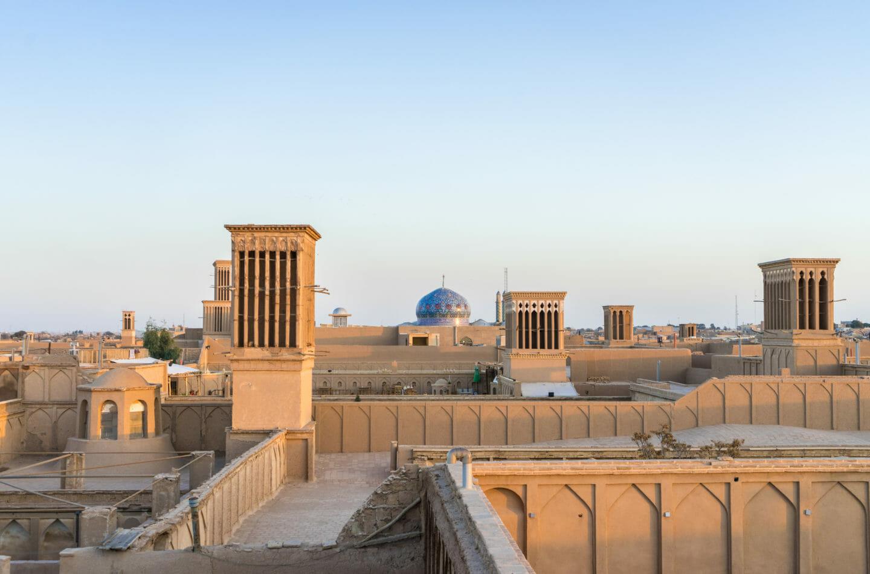 Tejados de Yazd