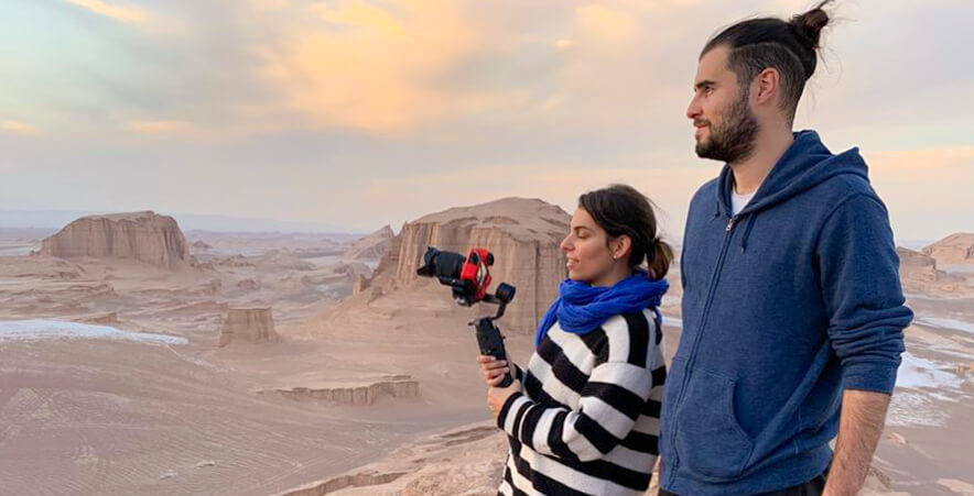 Fotografiando el desierto de los Kaluts