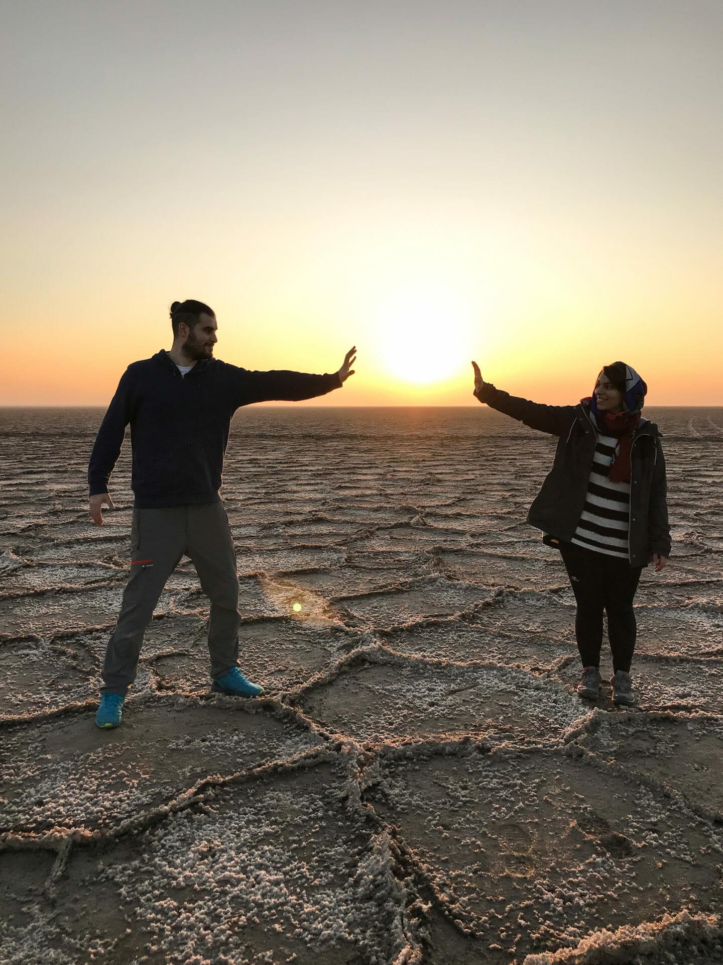 Desierto Kashan