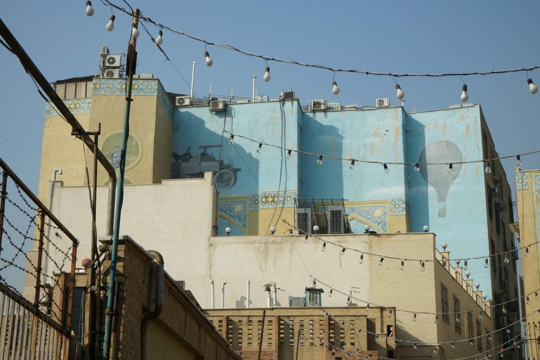 Barrio árabe de Teheran