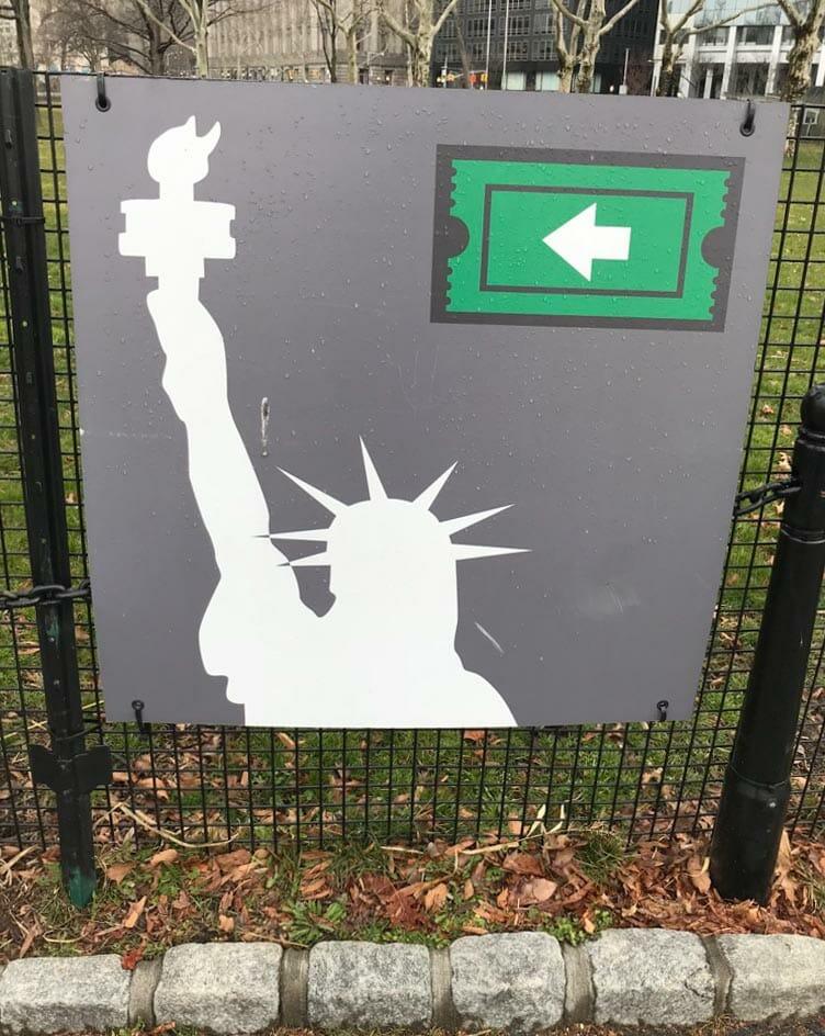 Taquillas tickets Estatua de la Libertad