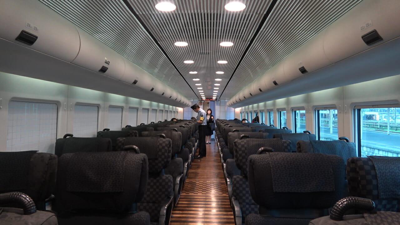 Shinkansen por dentro