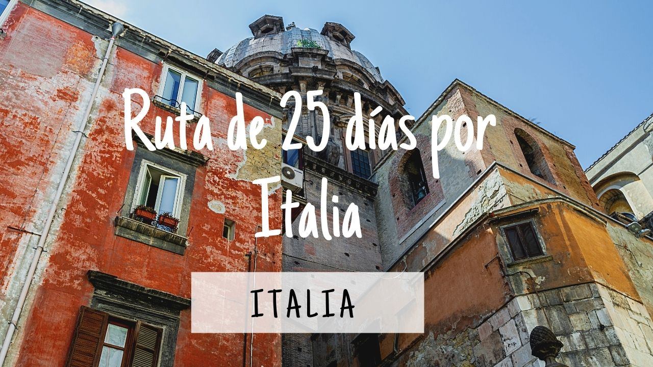 Ruta por Italia