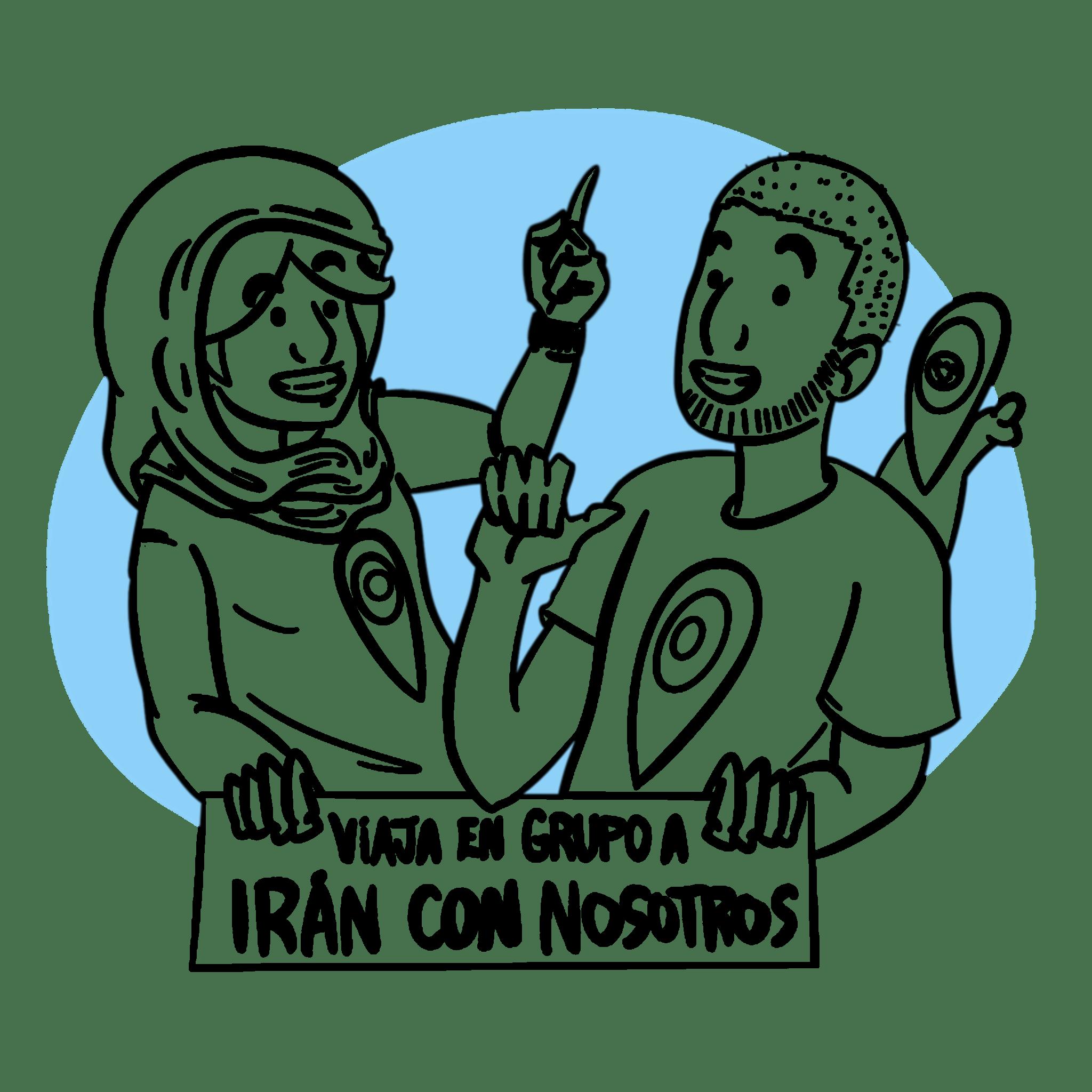 viaje en grupo a iran