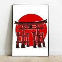 Print torii miyajima