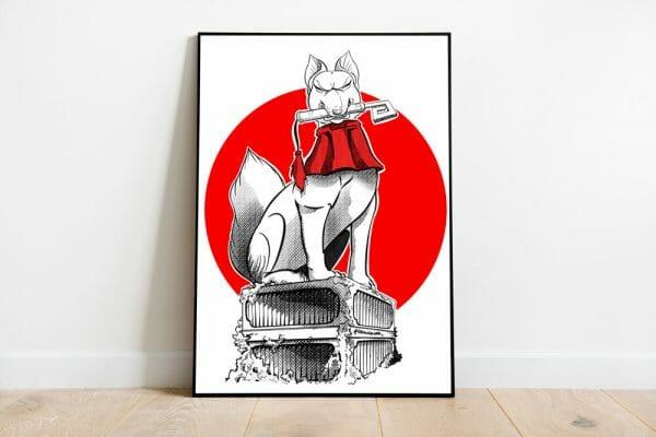 print-kitsune